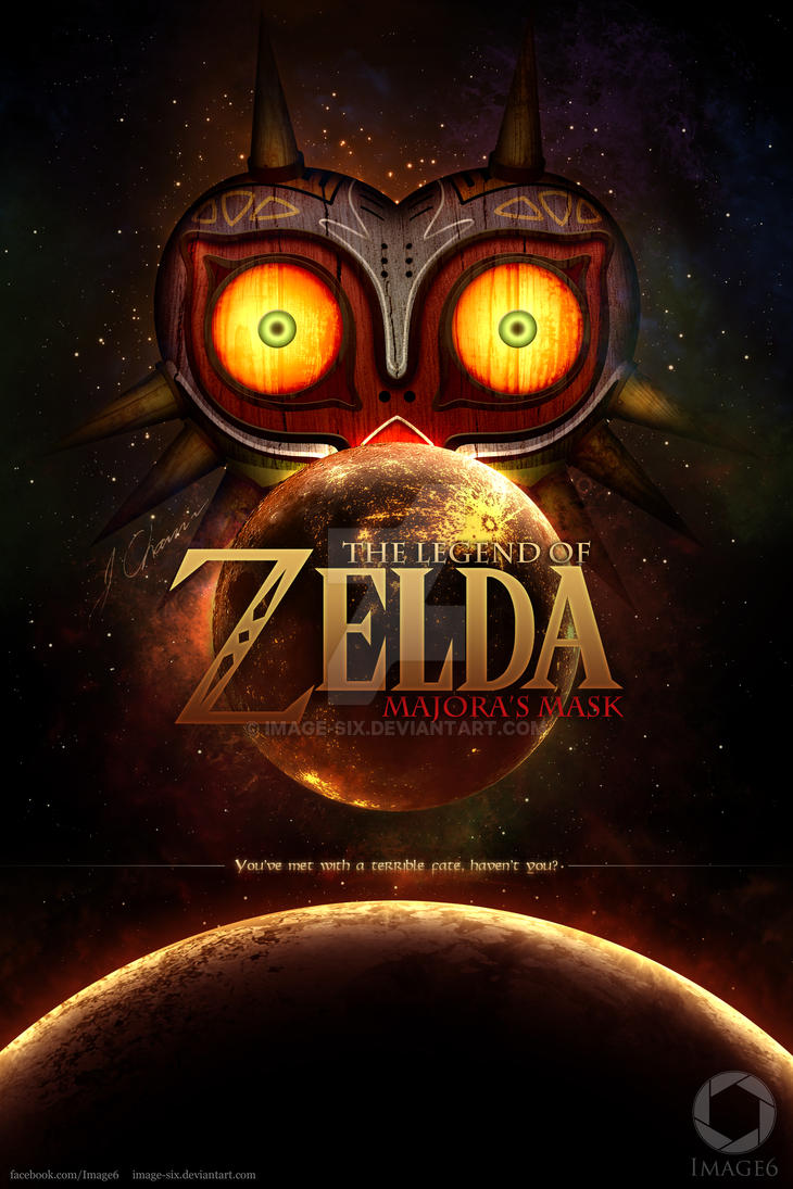 Majora's Mask (Fan Poster) by Image-Six
