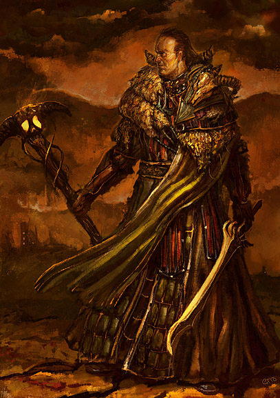 warlock by GregTaylorArt