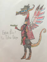 Erron Black the Totem Dragon by JacquIreBriggs