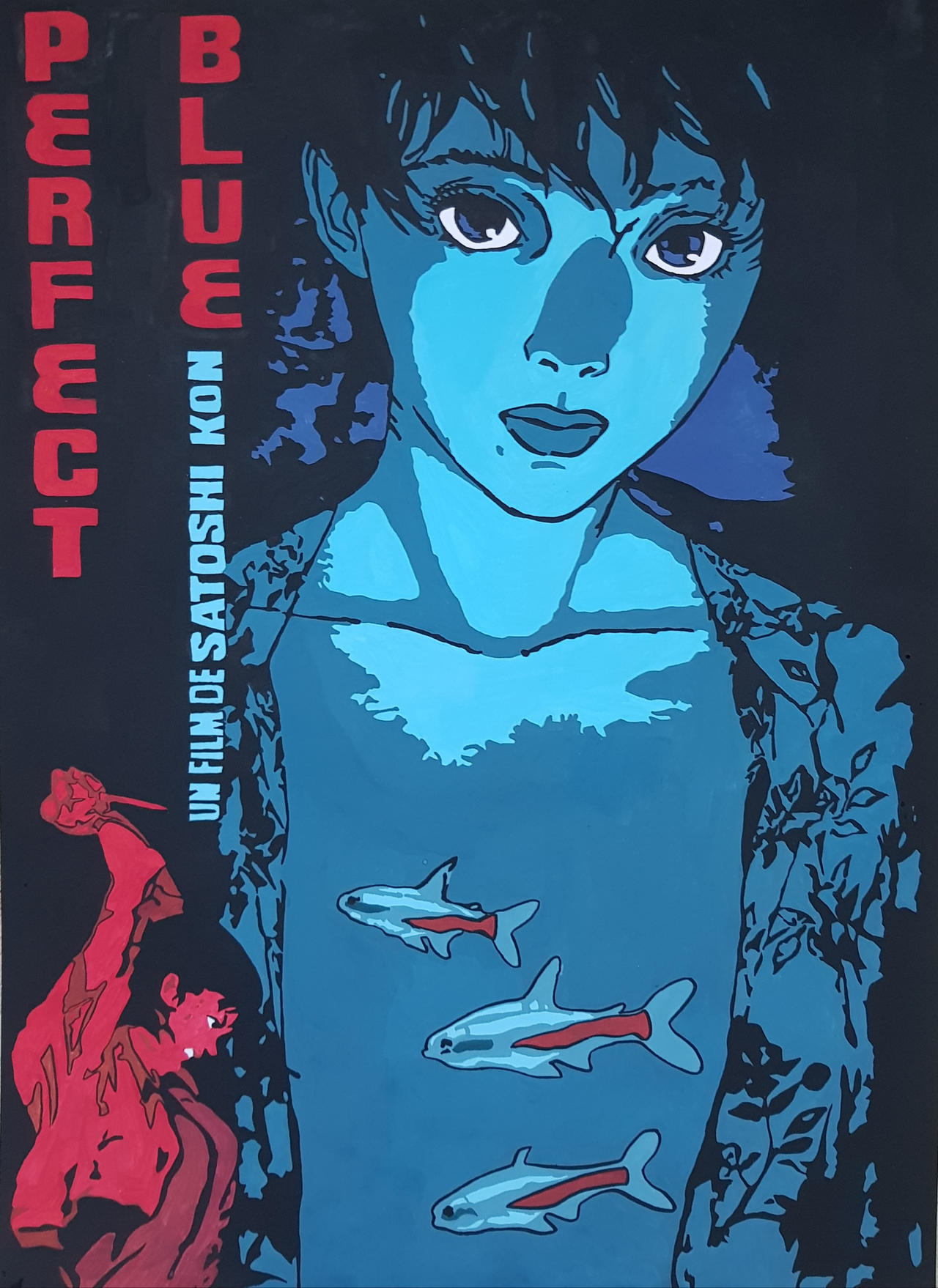 Perfect Blue Movie Poster By Gereksizelif On Deviantart