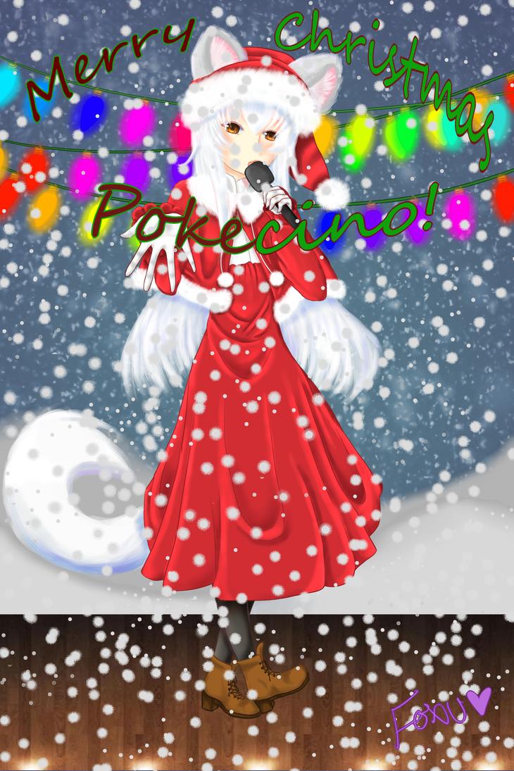 Minami Minci: Merry Christmas Pokecino! by Foxuuu