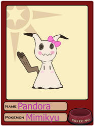 Pokecino pet app: Pandora by Foxuuu