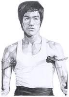 Bruce Lee by frqazi