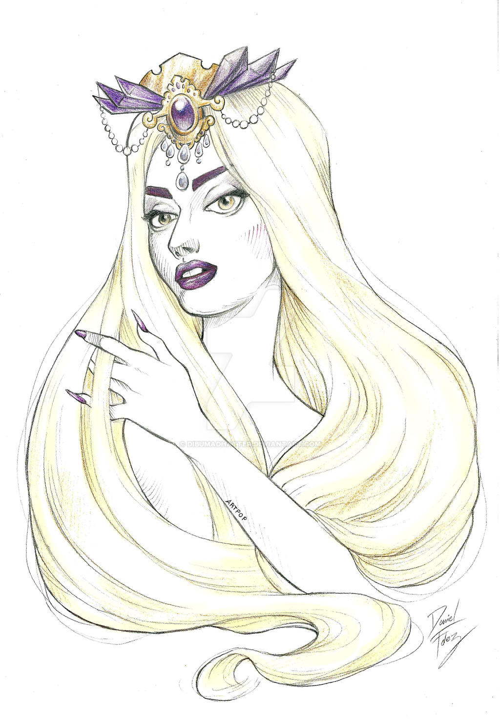 ARTPOP princess by DibuMadHatter