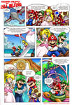 Mario Comic: Second Holiday on Isle Delfino Pg 1 by DibuMadHatter