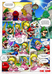 Mario Comic: Second Holiday on Isle Delfino Pg 2 by DibuMadHatter