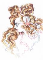 Botticelli Punk Lady by DibuMadHatter