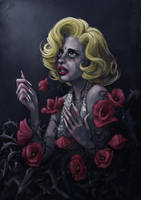 The Monster of the Blonde Icon by DibuMadHatter