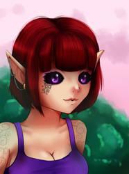 Dark Elf Crystal v2 by ORENJI-SAMA
