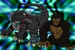AT-Godzillasaurus and Kong