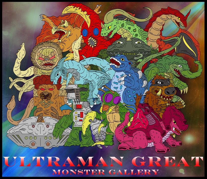 Ultraman Jack Monsters Ultraman Great Monster...