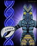 Ultraman 80 - The Baltan DNA Code by earthbaragon