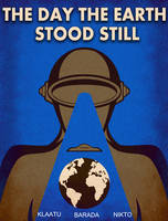Day the Earth Stood Still Poster by earthbaragon