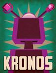 Kronos 1957 Minimalist Poster