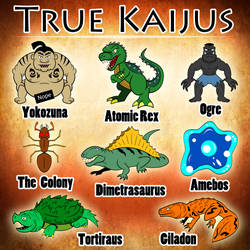 Atomic Rex Book 1 - The True Kaijus