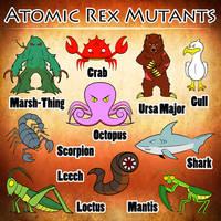 Atomic Rex Book 1 - The Mutants by earthbaragon