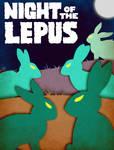 Night of the Lepus - Minimalist Poster