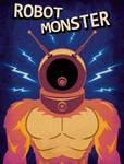 Robot Monster - Minimalist Poster