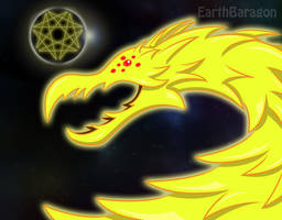 Godzilla - King Ghidorah The Planet Eater by earthbaragon