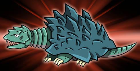 Godzilla Daikaiju - Kamoebas by earthbaragon