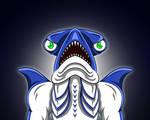 Day 22 - Slippery Shark from Power Rangers