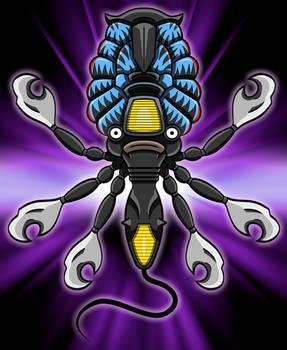 Ultraseven Alien - Cool Seijin