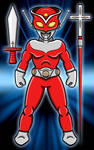 Ultraman Hero - Redman by earthbaragon