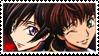 Lelouch + Suzaku Stamp
