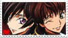 Lelouch + Suzaku Stamp by SitarPlayerIX