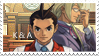 Kristoph + Apollo Stamp by SitarPlayerIX