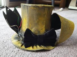 Springtrap themed top hat by Bat13SJx