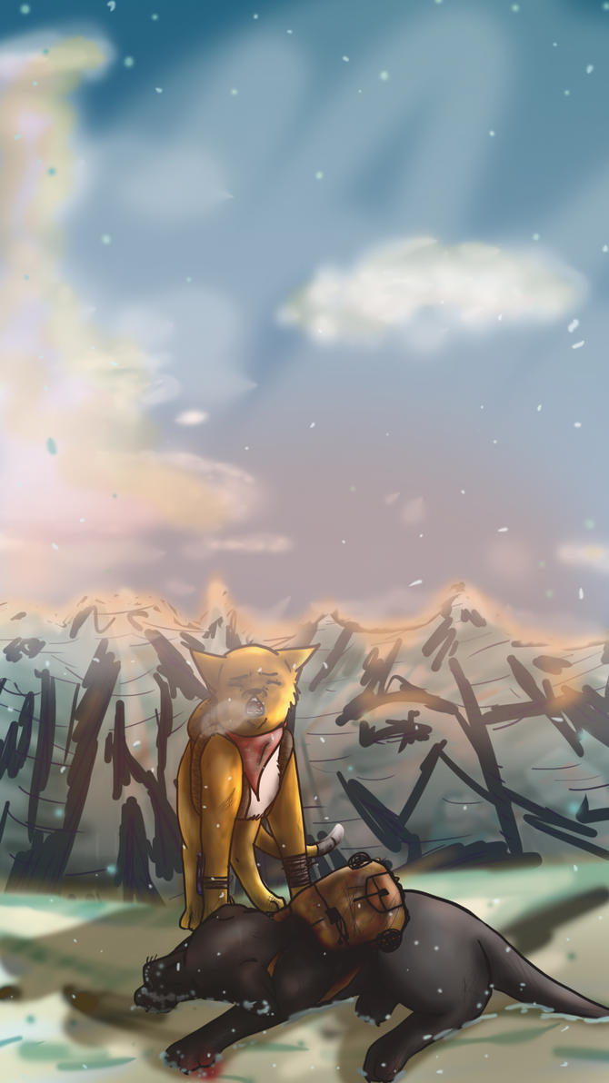 Alone on Mount Everest by YipingRay-lin