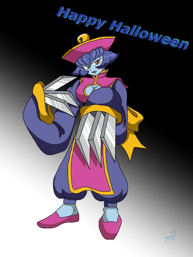 Happy Halloween- Hsien-Ko by Kuruyami30