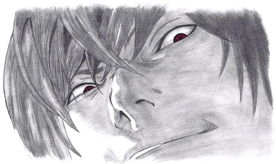 Yagami Light - Evil Eye by AureliaDominiqueVida on DeviantArt