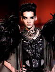 Bill Kaulitz on DSquaredRunway