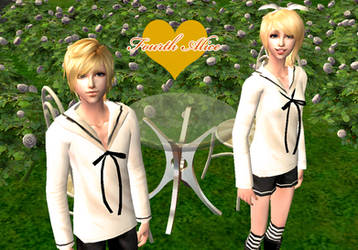 Fourth Alice VOCALOID Sims 2 by NegativeDanna