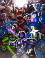 Mega Man Tribute Entry by Variable-Edge