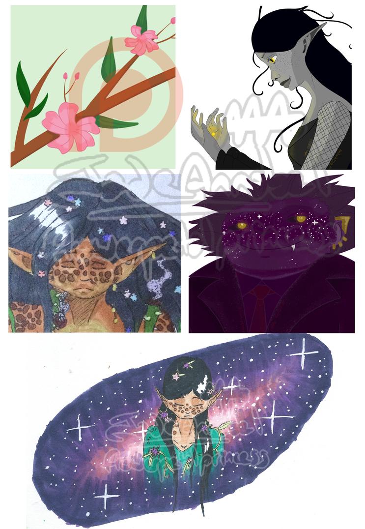 Patreon Examples by Mizuki-Anya