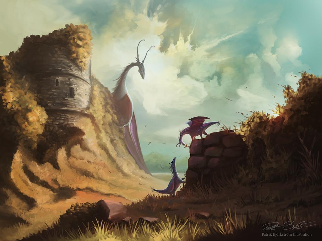 Dragon Play by Patriartis