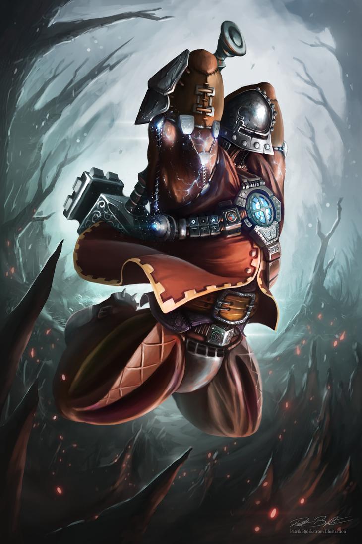 Steampunk Warrior by Patriartis