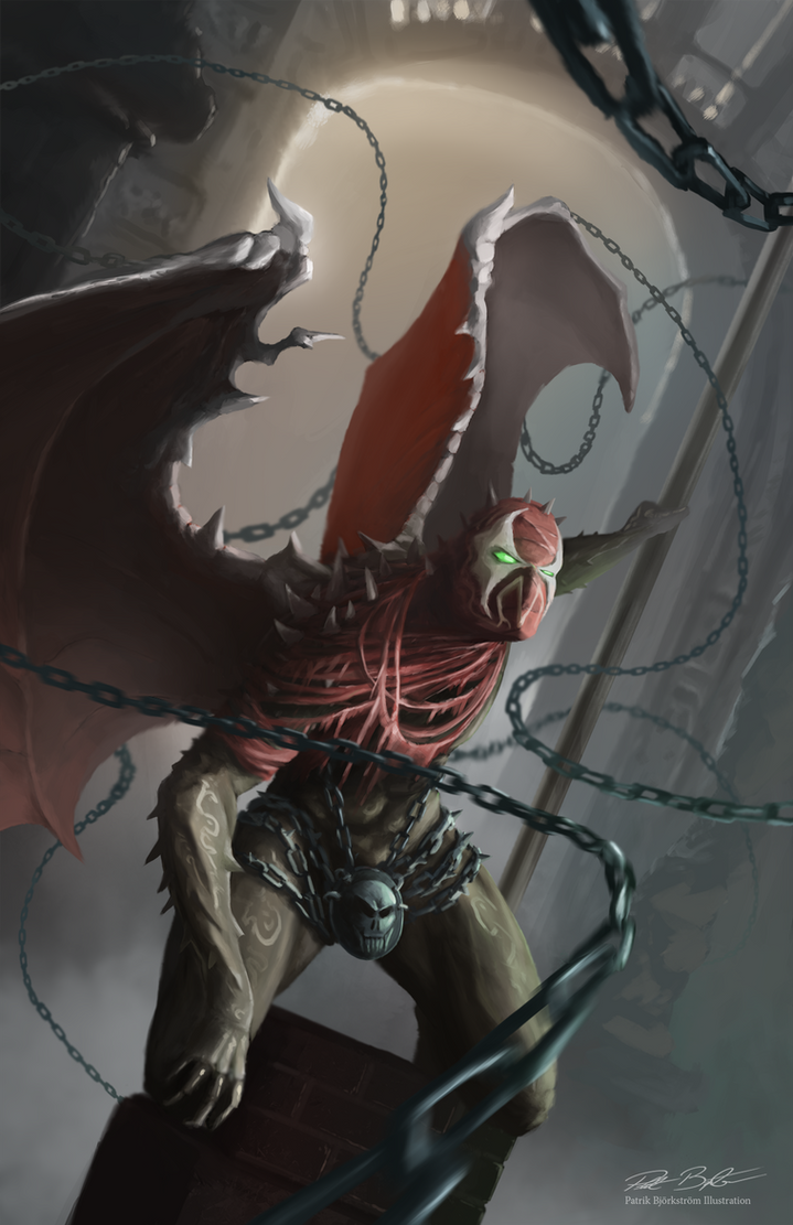 Spawn Redesign by Patriartis