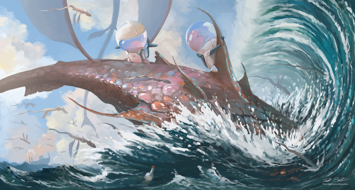 The Journey Continues in a Splash! by Patriartis