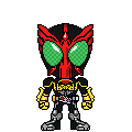 Kamen Rider OOO Tatorazou by 070trigger