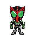 Kamen Rider OOO Takakirizou by 070trigger