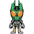 Kamen Rider OOO Gatagoritah by 070trigger