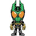Kamen Rider OOO Gatatorazou by 070trigger