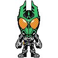 Kamen Rider OOO Gatagorzou by 070trigger