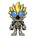 Kamen Rider OOO Ragoritah by 070trigger