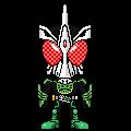 Kamen Rider OOO Sakiriba by 070trigger