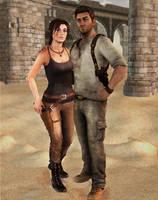 Lara-Nate by thePWA